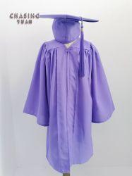 De purpere Graduatie GLB van de Jonge geitjes van de Stof van de Steen en de Reeks van de Toga 2019