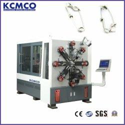 KCT-1245WZ 4.5mm 12の軸線回るCamless CNCの多目的なばね機械を形作る