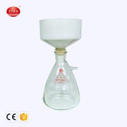 5000ml de vacuümEenheid van de Filtratie van het Glas van de Zuiging Filtrerende met Buchnertrechter
