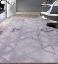 Teppiche und Wolldecke-neuer Entwurf für Landhaus-Ausgangs- und Hotel Banboo Silk Bereichs-Wolldecke-handgemachte graue Wolldecken