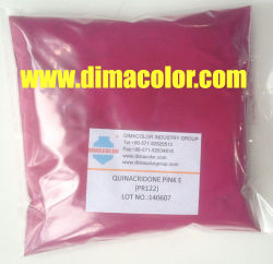 안료 퀴나크리도 핑크 E 피그먼트 레드 122 플라스틱 잉크 섬유 페인트 코팅
