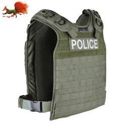 صدرية تكتيكية مضادة للرصاصة مع قوات الدفاع عن الرقبة والكتف الستايل الدروع أنثى الستاكتيكية المضادة للرصاص