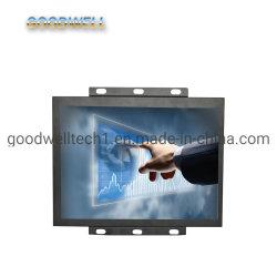 LCD industrial com estrutura aberta com o monitor de ecrã táctil de 15 polegadas