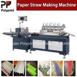 Partie de la barre de fournitures de produits jetables paille/papier rendant machine de formage de paille