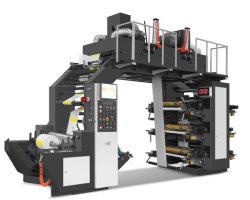 Высокая скорость 120 м/мин шести цветных гибких машины для печати бумага, пленка, Non-Woven тканей, тканого ленту модель Yt-61000s