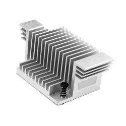OEM / CNC personnalisé de haute précision l'anodisation Aluminium Métal dissipateur de chaleur