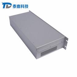 Casella di alluminio industriale di potere dello strumento di controllo di profilo della cassa del macchinario delle attrezzature mediche di alluminio dell'alloggiamento
