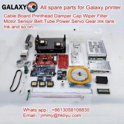 Cabezal de impresión original y el nuevo marco de la bomba de Cable amortiguador de la correa del motor de la junta de la Galaxia Ud1612 1812 2512 3212 LC Ld Eco impresoras solvente de piezas de repuesto
