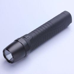 IP68는 재충전 전지 5W D46.5*L212.8mm를 가진 유리제 플래쉬 등 LED 토치를 방수 처리한다