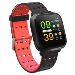 Nouveau design de mode écran LED de filles Smart Watch Y8 femelle de la fréquence cardiaque étanche IP67 Bracelet de pression sanguine