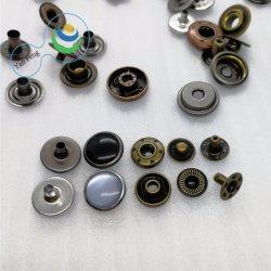 11.5mm 다채로운 구슬 디자인 고급장교 스냅 단추