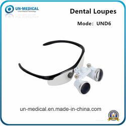 Nouvelle mise au point automatique de soins dentaires de la loupe binoculaire Loupe en verre optique médicale