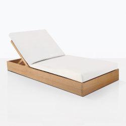 La nage en Plein Air Transat de meubles en bois de teck Salon Kuba Sun