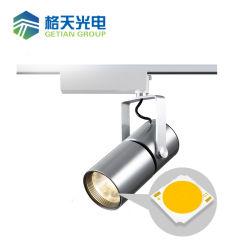 工場価格ランプは白いGU10点ライト適切なショーケースのスポットライトをつけるLEDチップボードの穂軸を分ける