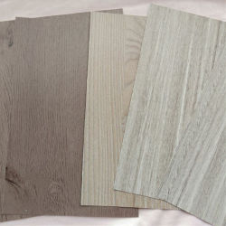 Grãos de madeira Papel decorativo para porta de vidro laminado de PVC de papel de parede/