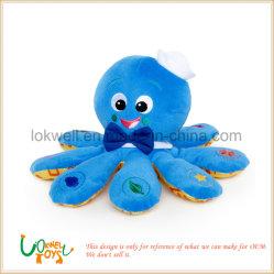 Soft animal en peluche de calmar noir de seiche Seppia jouets pour enfants