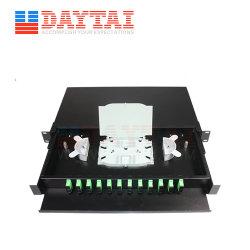 24のポートの光ファイバ端子盤の (ODF)端子箱ODF