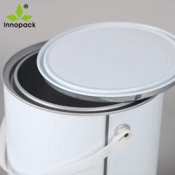 L'abitudine poco costosa all'ingrosso ha stampato il barattolo di latta vuoto da 1 gallone