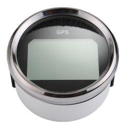 85mm noir Compteur de vitesse GPS Mph noeuds km/h pour la voiture Camion Moto