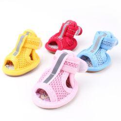 Venda por grosso de acessórios de animais de estimação adorável Puppy Dog Sandálias sapatos de Verão