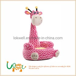 Girafe en peluche de haute qualité Cartoon bébé animal canapé