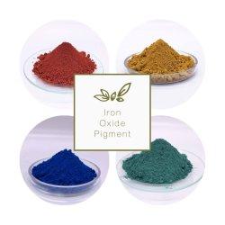 Oxyde de fer rouge/jaune/bleu/vert oxyde de fer Pigments pour pavés