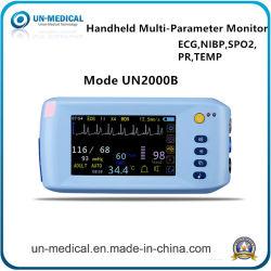 De Monitor van de Levensteken van de Multiparameter van ECG SpO2 NIBP, Geduldig ControleSysteem