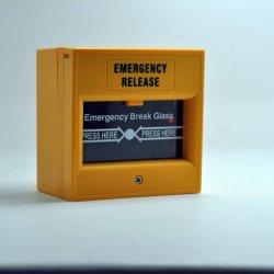 DC12-24Vの緊急時のドア呼出しポイントのための手動火災報知器呼出しポイント値崩れガラス