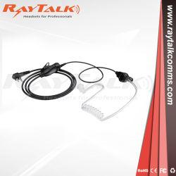 Два комплекта видеонаблюдения радиостанций акустическую трубку наушника гарнитуры