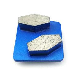 Husqvanar RediロックのQuciklyの変更のダイヤモンド研摩のツールのコンクリートのための粉砕セグメントディスク