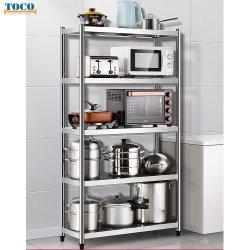 Cocina de acero inoxidable tubo de palet de almacén de estantería de almacenamiento/Rack