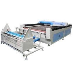 Auto het Voeden Stof/de Laser van Co2 van het Leer/van de Kleding Scherpe Machine 1630
