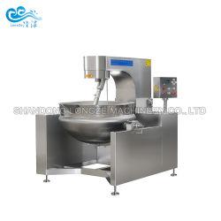 Полностью автоматическая промышленного потребителя в защитной оболочке чайник с заслонки смешения воздушных потоков в томатном соусе