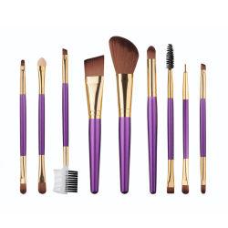 Оптовая торговля Manufactory 9PCS макияж Набор щеток