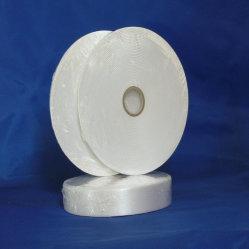 Recycleer het Geweven Lint van het Satijn van de Polyester van de Rand voor TextielEtiket