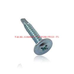 Plaqueta de zinc de la armadura de la cabeza de perforación tornillos auto