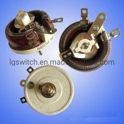 Rt 12.5W 25W 50W 120W Résistances bobinées variable Potentiomètre de la résistance du rhéostat