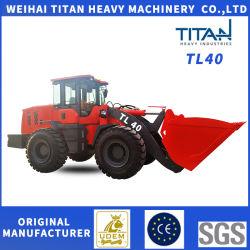 Estrazione mineraria della costruzione da 4.0 tonnellate e mini/piccolo macchinario agricolo del caricatore della rotella con il motore di Kubota