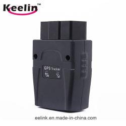 Pas de fils/de tracas, juste et la voie de fusion Port OBD II véhicule Tracker GSM GPRS GPS (A08)