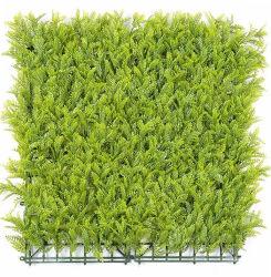 Против искусственного УФ растениями листвы конфиденциальности листьев сад хеджирования ограждения вертикальной стены синтетических травы