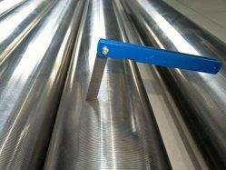 Edelstahl 304/316 Johnson-Bildschirm-Rohr/Keil-Draht-Bildschirm-Rohr/Quellfilter-Rohr