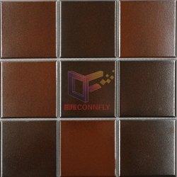 Большой размер металлической полированной цвета в современном стиле фарфора мозаики (ЛЖД07)