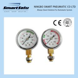 manometro di plastica di 0-160psi Caseordinary per industria