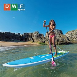 """Gonflables All-Around Stand Up Paddle Board 11' de long large 32"""" 6 """" épais Paquet SUP"""