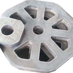 Le traitement de la plaque en acier lourdes coupe AH32 AH36 avec la flamme