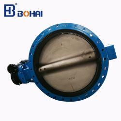 Duktiler Typ Drosselventil-Flansch-Anschluss des Eisen-U mit der Wras Bescheinigung verwendet zum Wasser-Rohr