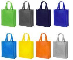 حقيبة غير منسوجة للتسوق والترويج، مع طباعة الشعار حسب الطلب