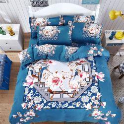 Padrão de impressão personalizado Árabe colchas de microfibras de papelão simples lençóis de cama e edredão cobrir