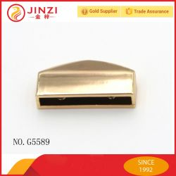 A extremidade da correia metálica high-end Dicas para produtos de couro