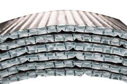Isolamento de folha de alumínio do rolo de bolha de ar